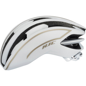 HJC IBEX Road Casco, matt white / gold